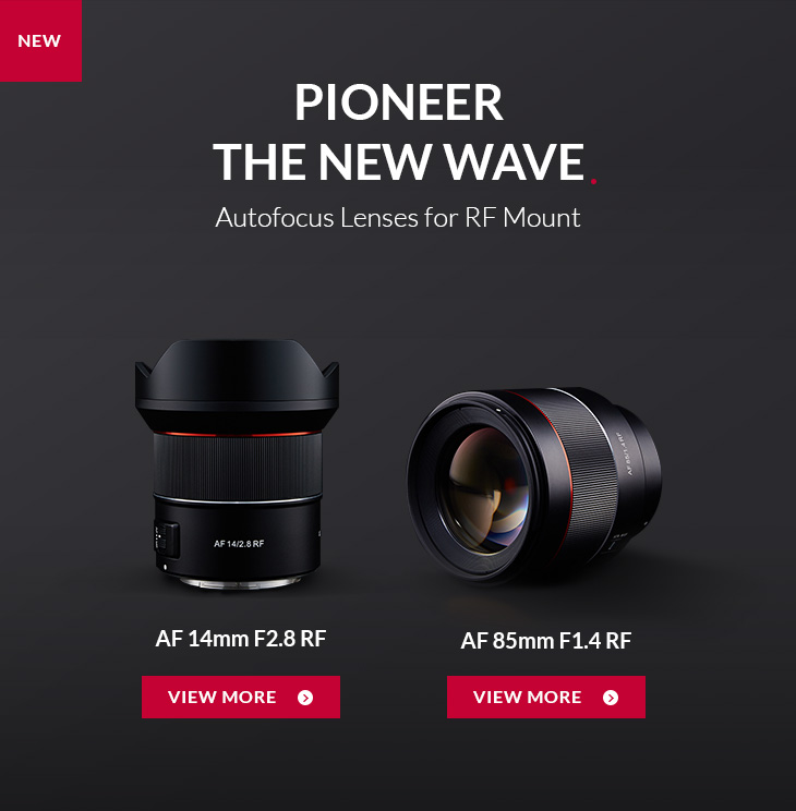 NEW ~ Pioneer the New wave Autofocus Lenses for RF Mount