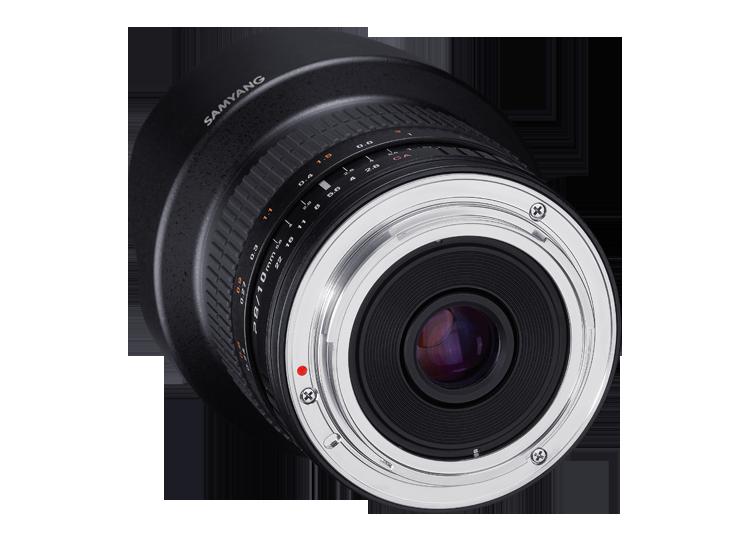 EF-M Mount Lens Samyang 10mm F2.8 ED AS NCS CS Lens Canon EF-M Mount Fitting