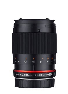 300mm F6.3  ED UMC CS