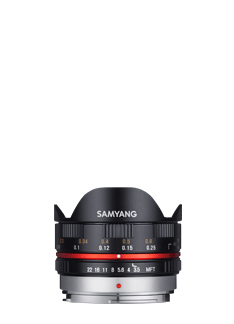 7.5mm F3.5 Fish-eye Lens - MFT