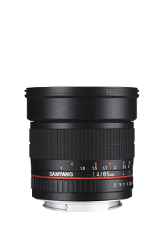 85mm F1.4 AS IF UMC