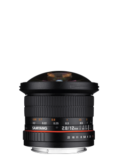 12mm F2.8  ED AS NCS FISH-EYE